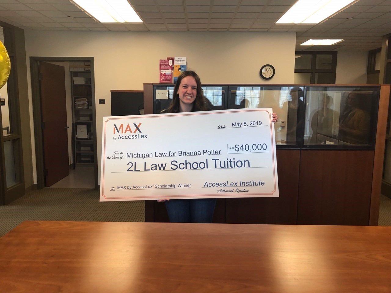MAX Grand Prize Scholarship Winner Brianna Potter