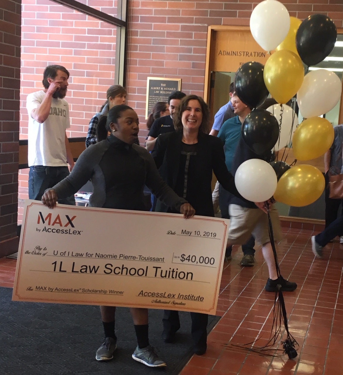 MAX Grand Prize Scholarship Winner Naomie Pierre-Touissant