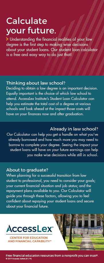 Student Loan Calculator Page Two