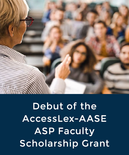 AccessLex-AASE ASP Faculty Scholarship Grant